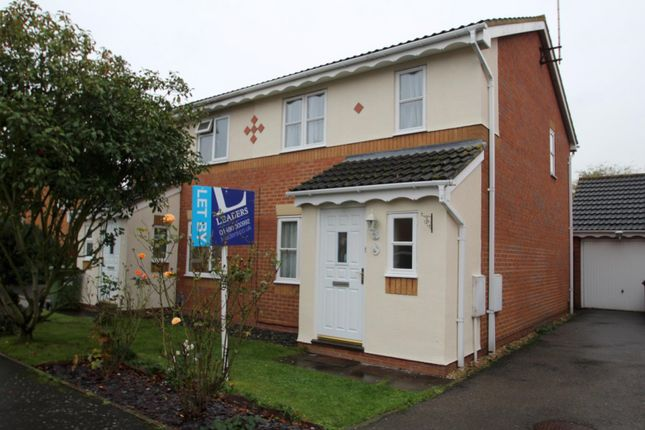 Thumbnail Semi-detached house to rent in Alder Drive, Huntingdon