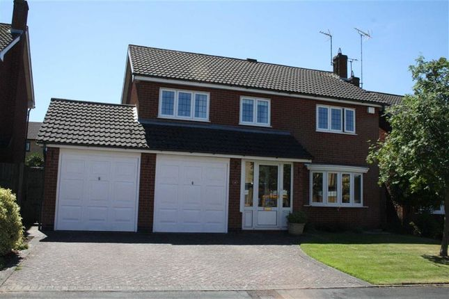 Thumbnail Detached house for sale in Foresters Close, Glenfield, Leicester