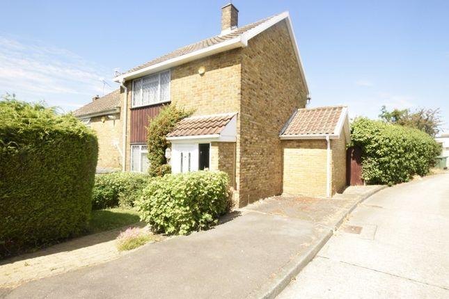 Thumbnail End terrace house for sale in Morrells, Basildon