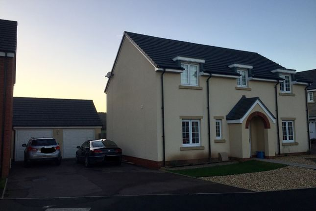 Thumbnail Detached house to rent in Kemble Road, Monmouth, Gwent