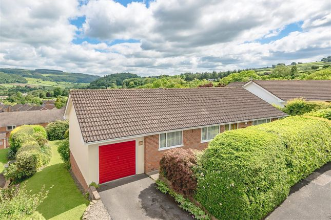 Thumbnail Detached bungalow for sale in Halfway, Rockes Meadow, Knighton