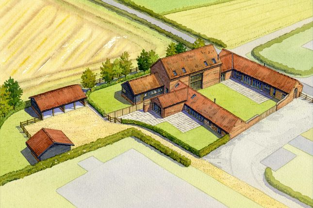 Thumbnail Barn conversion for sale in Foulsham Road, Hindolveston, Dereham
