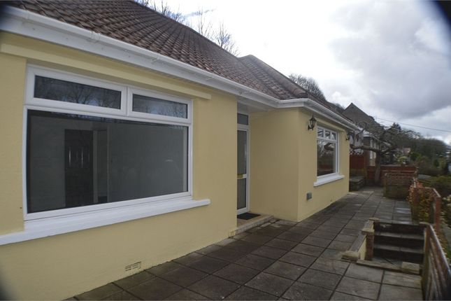 Thumbnail Detached bungalow for sale in Caerhendy, Port Talbot