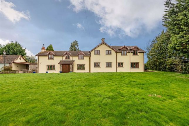 Thumbnail Detached house for sale in Elms Road, Raglan, Monmouthshire