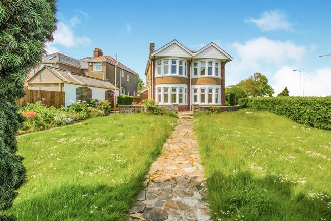 Thumbnail Detached house for sale in Tynewydd Road, Barry
