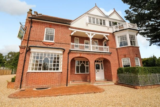 Thumbnail Flat to rent in Station Road, Sway, Lymington