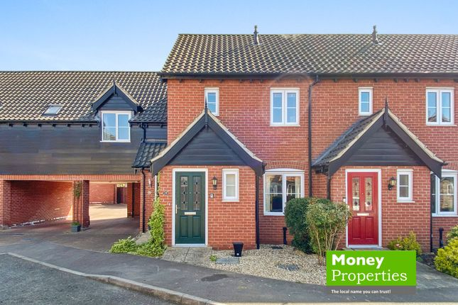 2 bed end terrace house for sale in Bryony Way, Attleborough, Norfolk NR17