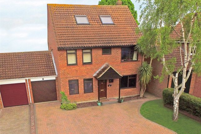 Thumbnail Detached house for sale in Cumberland Drive, Laindon, Essex