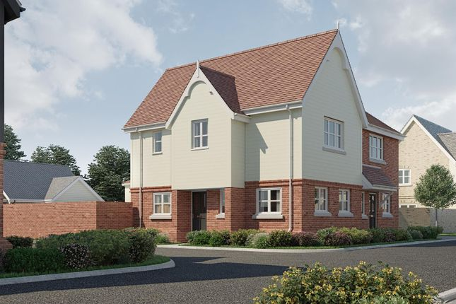 Thumbnail Semi-detached house for sale in The Campion, Plot 42, Latchingdon Park, Latchingdon.