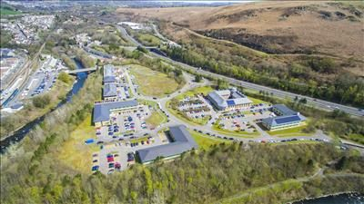 Thumbnail Land for sale in Serviced Development Sites, Navigation Park, Abercynon