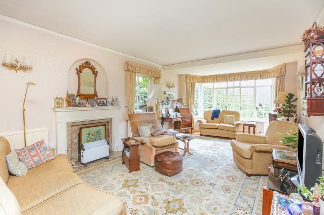 Living Room of Castle Hill, Prestbury, Macclesfield, Cheshire SK10
