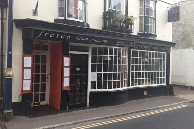 Thumbnail Restaurant/cafe for sale in 40 Northumberland Place, Teignmouth