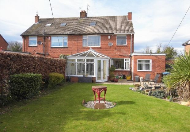 Thumbnail Semi-detached house for sale in Ediscum Garth, Bishop Auckland