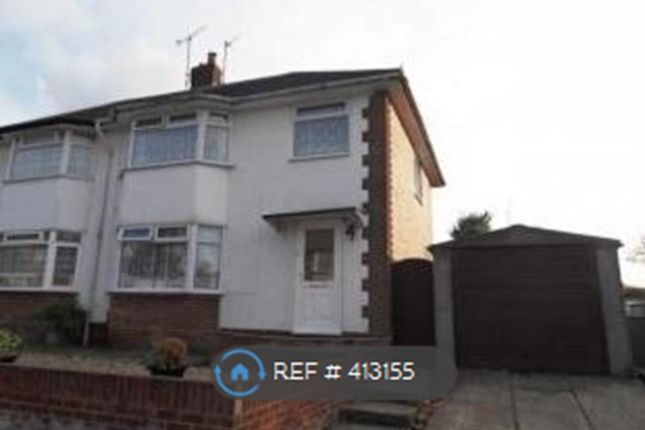 Thumbnail Semi-detached house to rent in Hele Close, Basingstoke