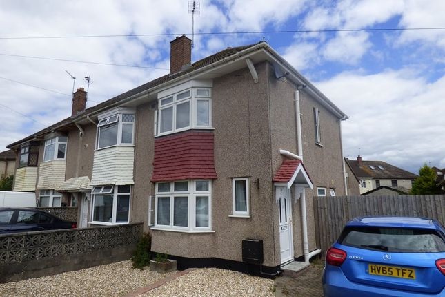 Thumbnail End terrace house to rent in Branksome Crescent, Filton, Bristol