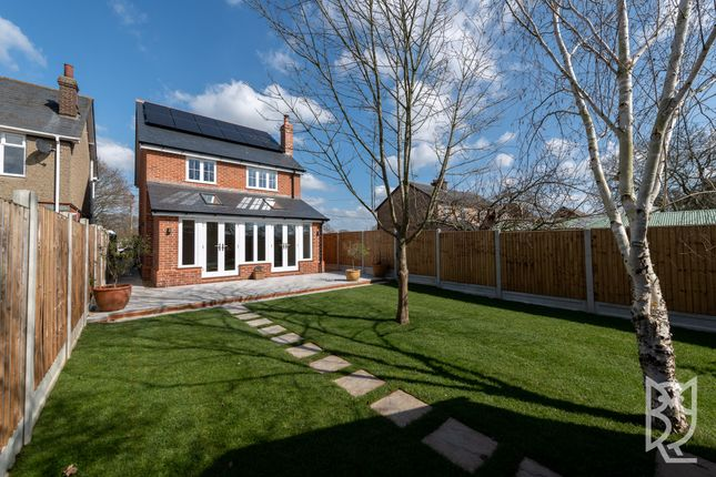 Thumbnail Detached house for sale in Hadleigh Road, Holton St. Mary, Colchester, Suffolk