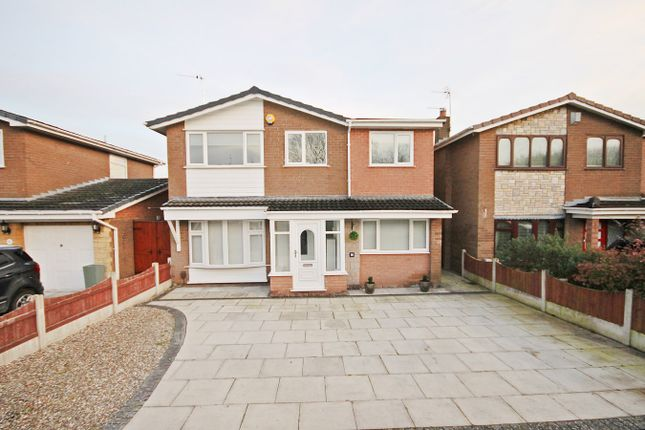 Thumbnail Detached house for sale in Shaftesbury Avenue, Penketh, Warrington
