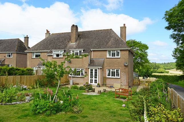 Thumbnail Semi-detached house for sale in Newtown Hill, Coombe Keynes, Wareham