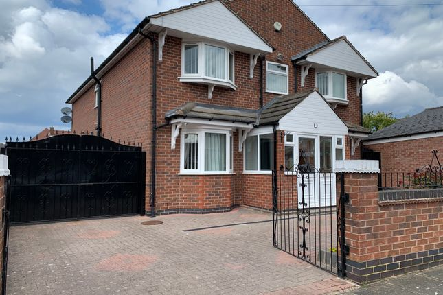 Thumbnail Detached house for sale in Coplow Avenue, Leicester