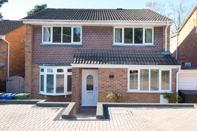 Thumbnail Detached house for sale in Harvard Road, Owlsmoor, Sandhurst, Berkshire