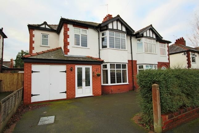 Thumbnail Semi-detached house for sale in Priory Crescent, Penwortham, Preston