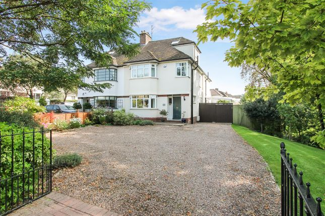 Thumbnail Semi-detached house for sale in Hatherley Road, Cheltenham