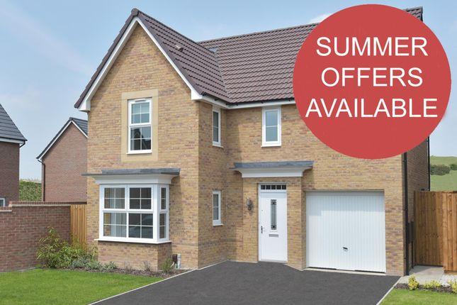 "Thumbnail Detached house for sale in ""Halstead"" at Weddington Road, Nuneaton"