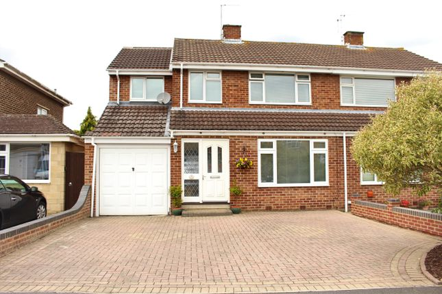 Thumbnail Semi-detached house for sale in Tyneham Road, Swindon