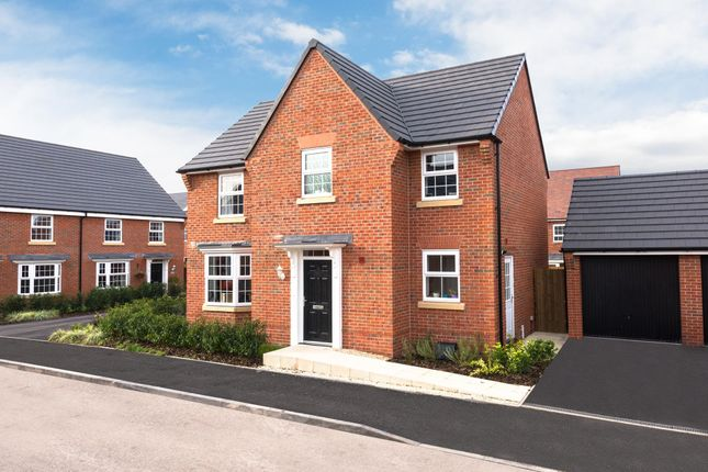 "Thumbnail Detached house for sale in ""Hollinwood"" at Hassall Road, Alsager, Stoke-On-Trent"