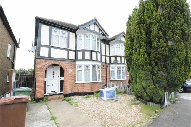 Thumbnail Semi-detached house to rent in Heathview Road, North Grays, Essex