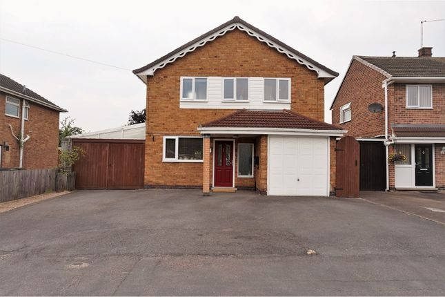 Thumbnail Detached house for sale in Ivydale Road, Thurmaston