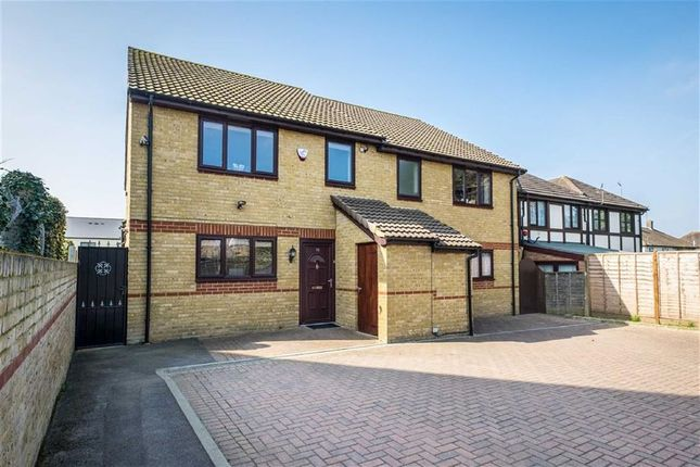Thumbnail Semi-detached house for sale in Archie Close, West Drayton, Middlesex