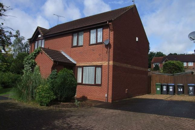 Thumbnail Semi-detached house to rent in Staveley Way, Brownsover, Rugby