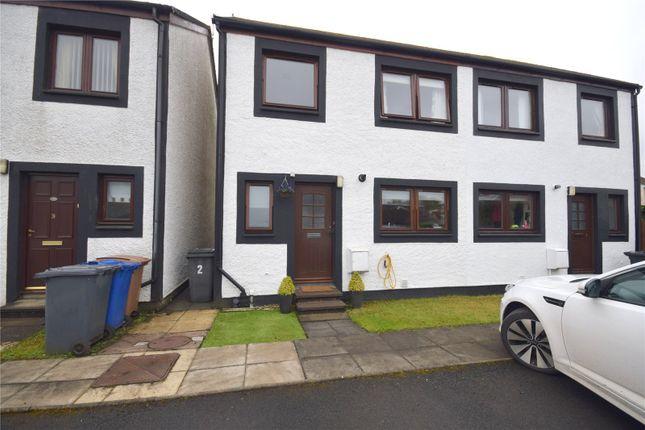 Thumbnail Semi-detached house for sale in Cooperage Yard, Lochwinnoch, Renfrewshire