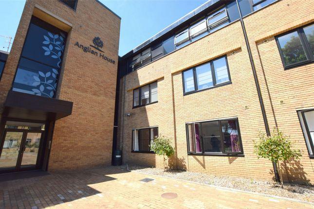 Thumbnail Flat to rent in Anglian House, Ambury Road South, Huntingdon, Cambridgeshire