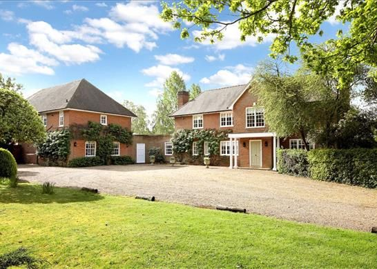 Thumbnail Detached house for sale in Hodge Lane, Winkfield, Windsor