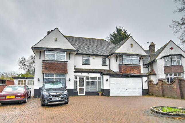 Thumbnail Detached house for sale in Hill Drive, London