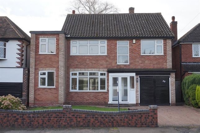 Thumbnail Detached house for sale in Buxton Road, Sutton Coldfield