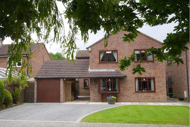 Thumbnail Detached house to rent in The Mews, Flaxton Road, Strensall, York