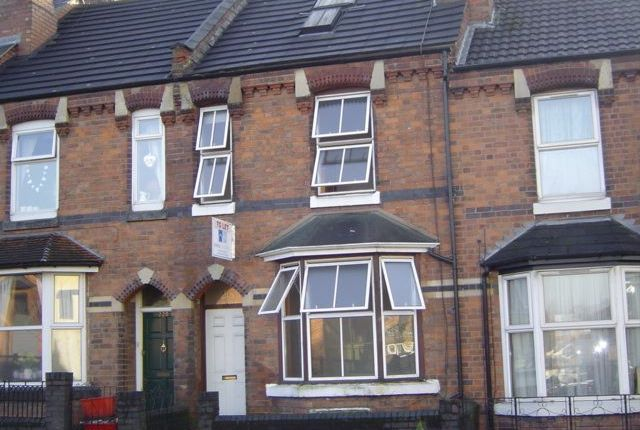 Thumbnail Terraced house to rent in Emscote Road, Warwick
