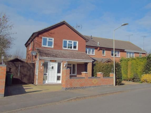 Thumbnail Detached house for sale in Parsons Drive, Glen Parva, Leicester, Leicestershire