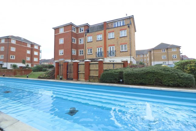 Thumbnail Town house for sale in St. Kitts Drive, Eastbourne