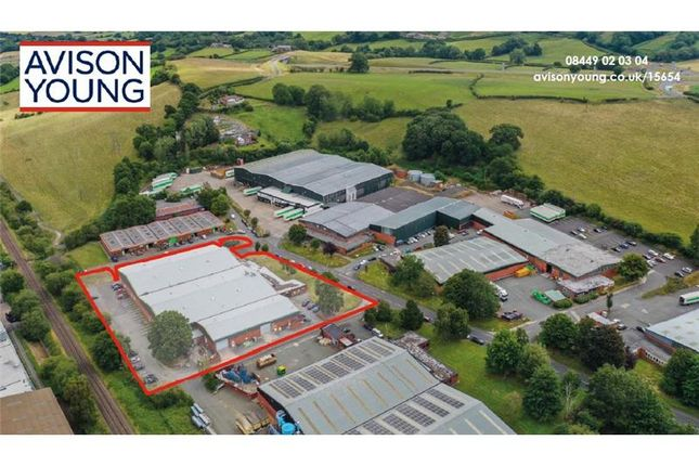 Thumbnail Warehouse for sale in Vastre Industrial Estate, Unit E, Heol Vastre, Newtown, Montgomeryshire, Wales