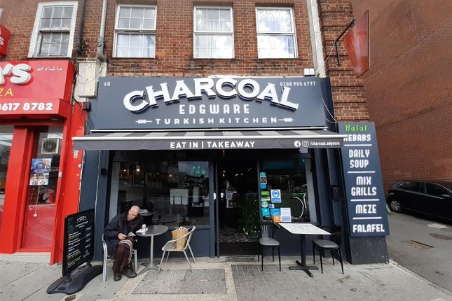 Thumbnail Restaurant/cafe for sale in Boot Parade, High Street, Edgware
