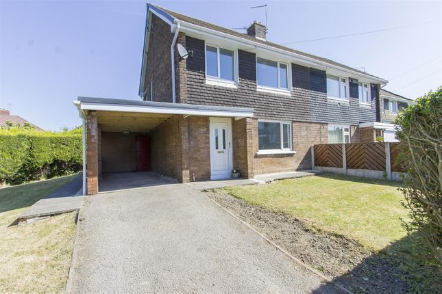 Thumbnail Semi-detached house for sale in Cordwell Close, Staveley, Chesterfield