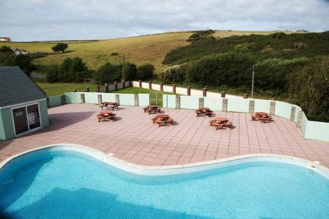 Outdoor Pool of Trevelgue, Newquay, Cornwall TR8