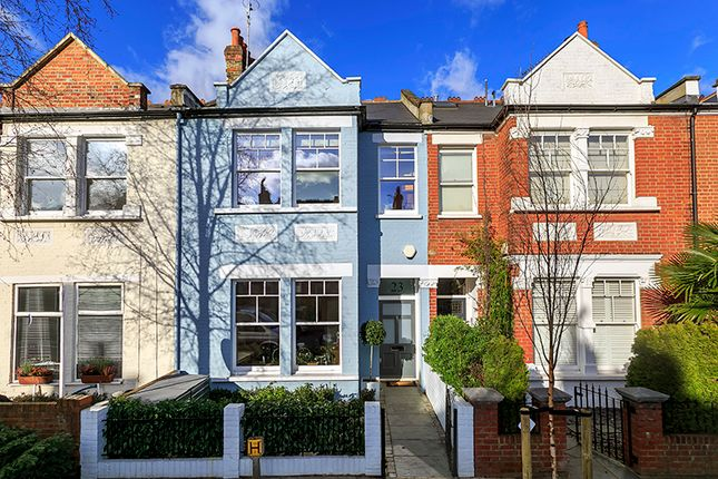 Thumbnail Terraced house to rent in Selwyn Avenue, Richmond
