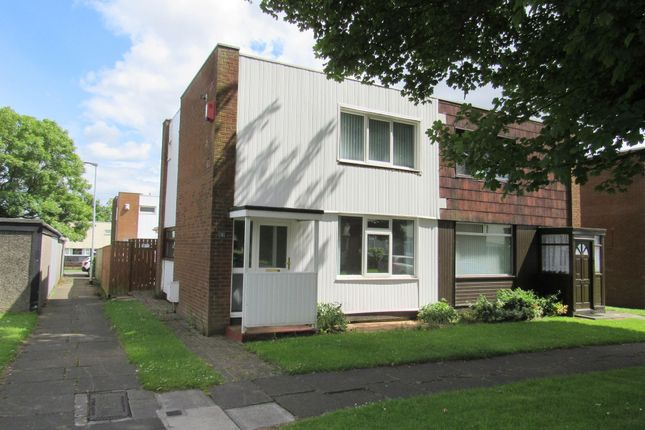 Thumbnail Semi-detached house to rent in Anstead Close, Cramlington