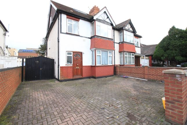 Thumbnail Semi-detached house to rent in North Hyde Lane, Heston, Hounslow
