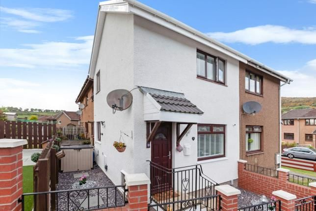 Thumbnail 1 bedroom semi-detached house for sale in Drumillan Hill, Greenock, Inverclyde